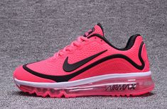 New Coming Nike Air Max 2017.5 KPU Peach Black Women