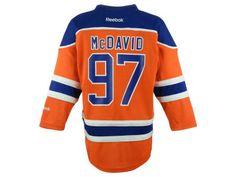 Edmonton Oilers Connor McDavid NHL Kids Replica Player Jersey 8f8f4c50f