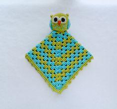 Owl Security Blanket Crochet Pattern (pay $4.27)