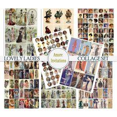 Vintage Images, Vintage Art, Vintage Bird Wallpaper, Collage Sheet, Digital Collage, Etsy Seller, Clip Art, Atc
