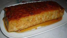 Puding con manzana rallada. Ver receta: http://www.mis-recetas.org/recetas/show/42894-puding-con-manzana-rallada