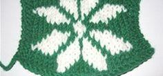 Knit a Snowflake