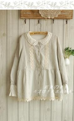This blouse is cute and looks sooo comfy and soft...