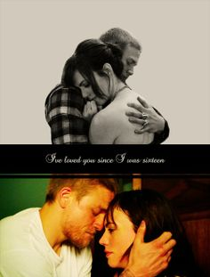 Jax and Tara Teller. I will go down with this ship! https://www.facebook.com/groups/fictionalcoupleswelove/