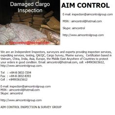 damaged cargo inspection    The Independent Inspections and Certification Services Company in Vietnam & Global  We are an Independent Inspectors, surveyors and experts providing inspection services, expediting services, testing, QA/QC, Cargo Survey, Mar Where to get free leads mlm leads buyer leads business opportunity Learn more at http://www.444power.com