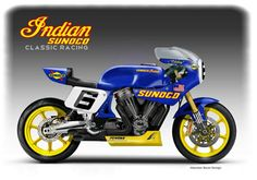 Indian Sunoco Classic Racing Concept