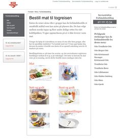 NSB / Rail Gourmet Togservice - VZT Tapas, Gourmet