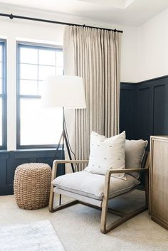 West Elm velvet chair | Neutral Interiors