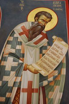 Church Interior, Byzantine Icons, Orthodox Icons, Ikon, Fresco, Saints, Projects To Try, Painting, Greek