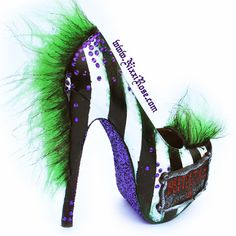 Hey, I found this really awesome Etsy listing at https://www.etsy.com/listing/204700453/beetlejuice-inspired-heels