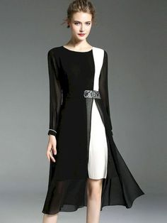 360f98324 52 Stunning Contrast Color Dress Ideas To Try This Yearhere To Convert Case