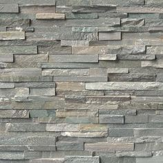 Ledgestone Panel x - Sierra Blue - Natural Stone Tile Stone Siding, Stone Cladding, Slate Wall Tiles, Stacked Stone Panels, Stacked Stones, Stone Veneer Panels, House Tiles, Stone Tiles, Stone Mosaic