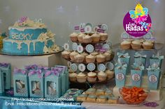 Mesa De Dulces Frozen Party Frozen Party Pinterest
