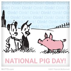 Happy National Pig Day!