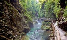 Blejski Vintgar entre os 10 melhores parques nacionais da Europa.