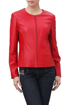 Phistic Women's Crop Lambskin Leather Jacket. Check out this great style for $169.99 on Luxury Lane. Click on the image above to get a coupon code for 10% off on your next order.