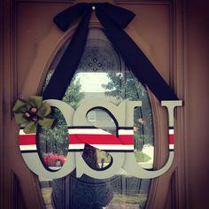 My new front door decor!!