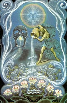 Aquarius - barren/dry, destroy pests & weeds, turn soil, good for hunting, transplanting onions/pine,