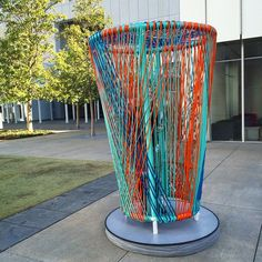Atlanta's High Museum of Art:A couple of the prototypes for our next piazza installation landed on campus yesterday! If you liked Mi Casa Your Casa, get excited for Los Trompos! Designed by Héctor Esrawe and Ignacio Cadena, the structures were inspired by spinning tops. It will all kick off on the piazza in April! (at High Museum of Art, Atlanta)