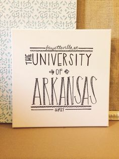 But with whatever college you're going to! Dorm decorations------------------------------------------------------------------------------------------ idea for gallery wall, obviously our university though lol College Dorm Rooms, College Dorm Canvas, Dorm Room Canvas, College Crafts, Cute Crafts, Diy Crafts, Dorm Life, College Life, Sorority Crafts