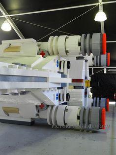 X-Wing at Legoland California: More than 5 million bricks, one humongous and impressive LEGO creation!