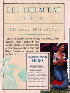 classic bastille day food
