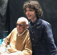 Finn Wolfhard and Stan Lee !!