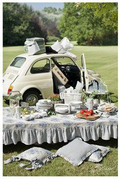 shabby chic picnic