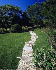 Rocks And Stones Walkway Design Ideas 111