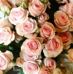 Pink Spray Roses  http://pristinefloral.com/
