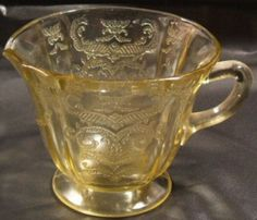 Pattern:   Madrid Depression Glass  Manufacturer:   Federal Glass Company