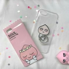 Kpop Phone Cases, Girly Phone Cases, Iphone 6 Cases, Peach Aesthetic, Korean Aesthetic, Retro Aesthetic, Apeach Kakao, Aesthetic Phone Case, The Face Shop