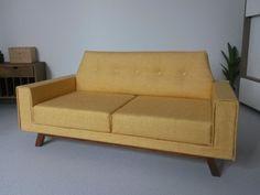 Modern Miniature Retro Dollhouse Sofa 1:12