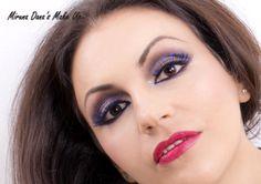 Blue-black eyelashes Septum Ring, Eyelashes, Beauty Makeup, Rings, Blue, Jewelry, Fashion, Lashes, Moda