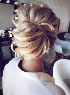hair styles medium length hair hair bridesmaid hair styles medium length hair hair bun styles for wedding hair hair bun styles wedding hair hair styles Wedding Hairstyles For Long Hair, Wedding Hair And Makeup, Up Hairstyles, Hairstyle Ideas, Bridal Hairstyles, Formal Hairstyles, Beautiful Hairstyles, Hairstyle Wedding, Wedding Nails
