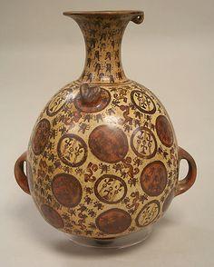 Storage Jar (Aryballus) Date: 15th–early 16th century Geography: Peru Culture: Inca Medium: Ceramic Dimensions: H. 11 1/2 x W. 9 1/4 in. (29.2 x 23.5 cm)
