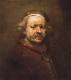 Rembrandt's self portraits are so full of character, and I think that's a result of knowing the subject well.