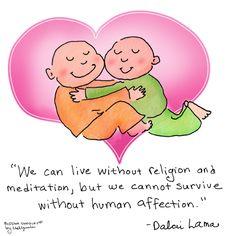 Buddha Doodles | Buddha Doodle - 'Affection' by Mollycules ♥ Please...