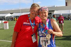 Special Olympian with breast cancer puts off chemo to win gold!