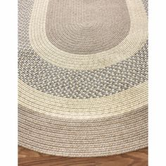 braided rug - maybe best for all colors