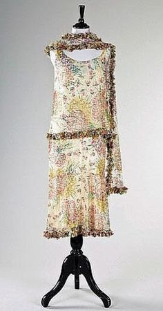 Chanel Dress - 1927 - House of Chanel (French, founded 1913) - Design by Coco Chanel (French, 1883-1971)