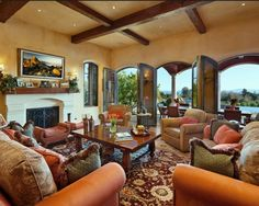 Tuscan Design, Pictures, Remodel, Decor and Ideas - page 21 love the wall color and texture
