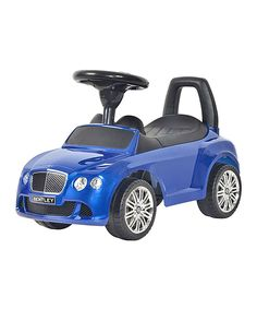 Love this Moroccan Blue Bentley Push Car by Best Ride On Cars on #zulily! #zulilyfinds
