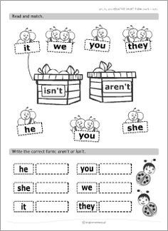 Printable worksheets for kids learning English to introduce, practise and revise basic grammar rules, plus ESL teachers' resources to use in English classes. English Grammar For Kids, English Phonics, Teaching English Grammar, English Worksheets For Kids, English Lessons For Kids, Kids English, English Activities, Learning English, English Pronouns