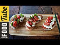(6) Tomato & Ricotta Bruschetta | Gennaro Contaldo - YouTube