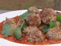 Lamb and rice meatballs Meatballs And Rice, How To Cook Meatballs, Banh Mi Recipe, Gluten Free Chilli, Cooking Jasmine Rice, Ground Coriander, Lamb Recipes, Worcestershire Sauce, Cinnamon