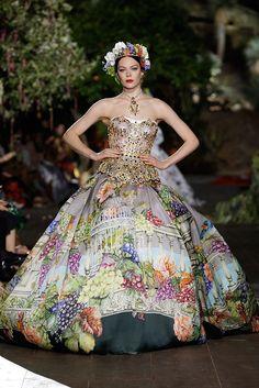 Dolce & Gabbana Alta Costura Otoño/Invierno 2015-2016
