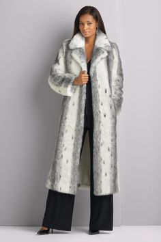 Long Faux-Fur Coat: Updated with a flattering new fit, this glamorous long coat in a luxe faux fur is a new take on a forever favorite! $149.99    ...