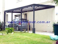 Fabrica de pergolas techos de chapa para cocheras garages.