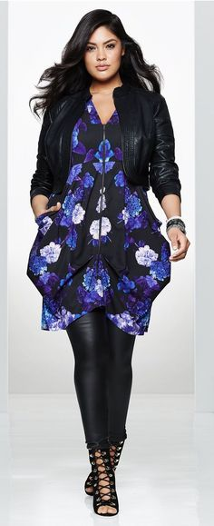 Plus Size Tunic Dress